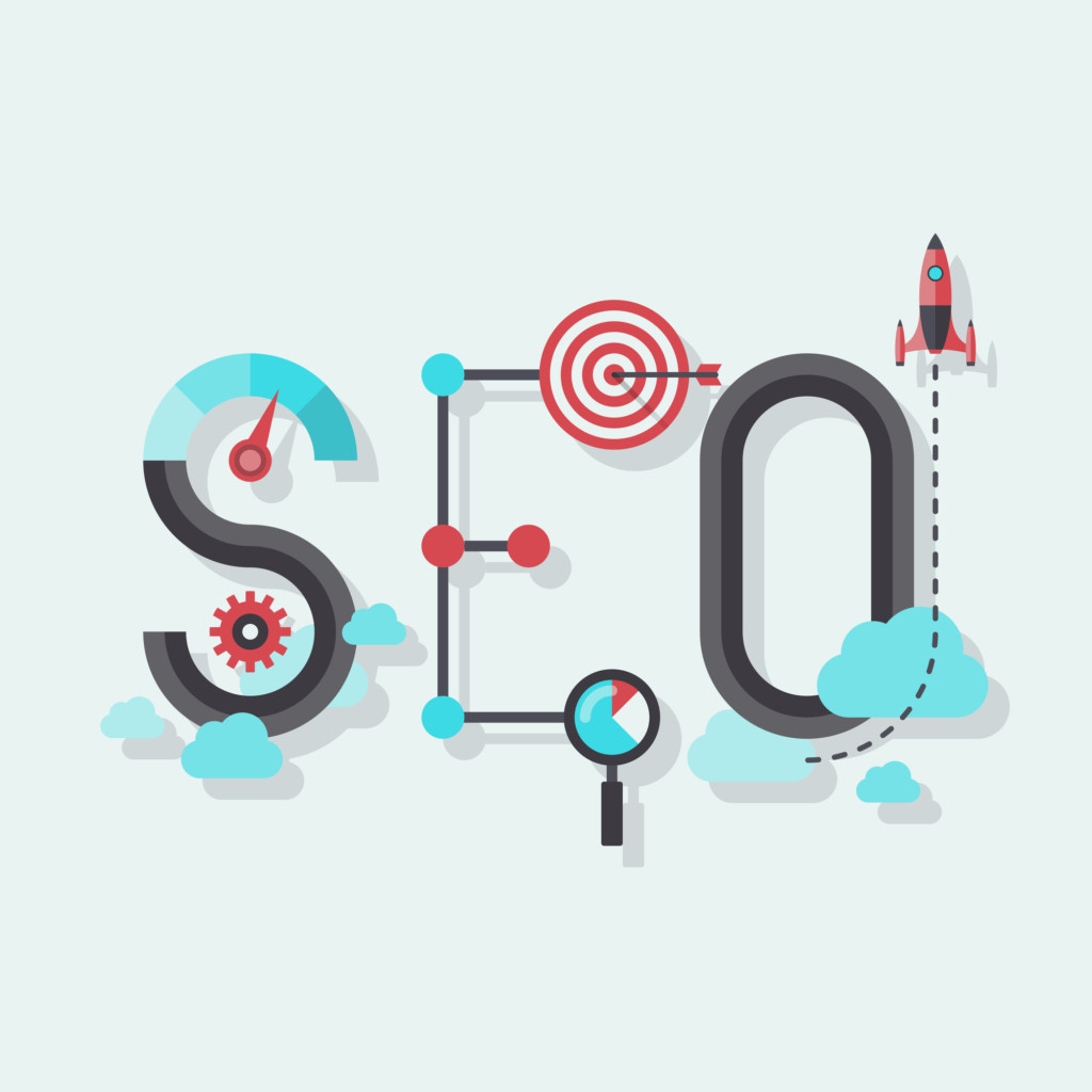 SEO logo for blogging