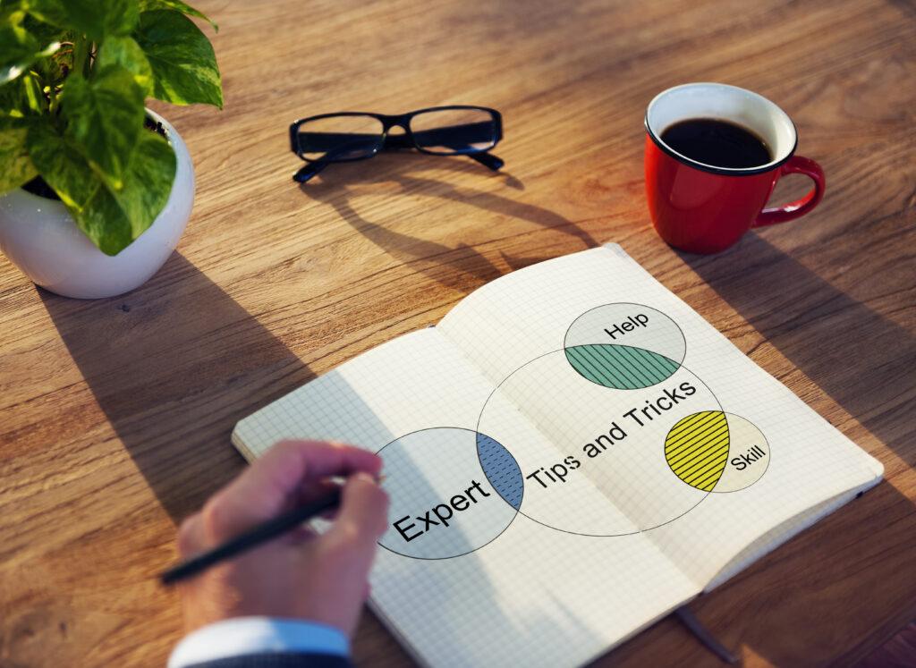 Dental Blog Expertise Image of Notebook Planning
